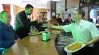 Jesús Liste Otero, xefe de cociña da Escola de Hostalería do IES de Foz, será o pregoeiro da XII Festa do Berberecho que se celebrará na vila os días 23, 24 e 25 deste mes.