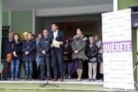 O Concello de Foz conmemorou o Día Internacional contra a Violencia de Xénero coa celebración dunha concentración e unha mesa redonda.