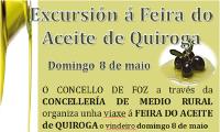 O Concello de Foz organiza unha excursión á Feira do Aceite de Quiroga o 8 de maio. A inscrición está aberta na Delegación de Cultura.