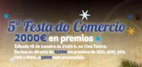 La V Fiesta del Comercio de Acisa Ribadeo se celebrará el 16 de enero en el Cine Teatro.
