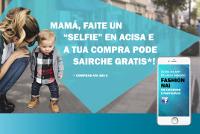 """Ata o 29 de abril permañece aberta a campaña do día da nai de Acisa Ribadeo, a """"Fashion nai"""", no facebook. A asociación repartirá 500 flores polas rúas da vila o 1 de maio."""