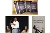 "Alexandre de Deus Monteiro presentará en Burela este domingo, 8 de maio, o seu libro ""El hijo de un dios mayor""."