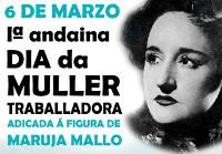 Viveiro celebrará o Día da Muller Traballadora o 6 de marzo cunha andaina adicada á figura de Maruja Mallo.