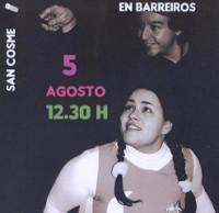 Este venres, 5 de agosto, chega a Barreiros un espectáculo de teatro musical mesturado con maxia cómica. Está destinado a todos os públicos.