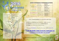 O 13 de xuño celébrase a VIII Romaría de San Antonio da Rigueira, en Xove. O Concello agarda unha grande afluencia de público.