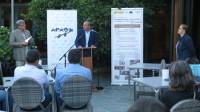 Presentada en Ribadeo a guía turística en inglés The North of Lugo, que se distribuirá nos 14 países europeos aos que viaxarán os profesores de Apaga nos vindeiros meses.