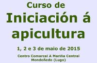 A Asociación Galega de Apicultura organiza un curso de iniciación os días 1, 2 e 3 de maio no Centro Comarcal A Mariña Central, en Mondoñedo.