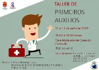 En Viveiro terá lugar os días 11 e 12 de xuño un taller de primeiros auxilios, dirixido ao público xeral. A inscrición está aberta.