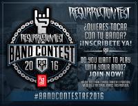 Hasta el 15 de mayo está abierto el plazo de inscripción para participar en el Band Contest Arehucas Resurrection Fest 2016.