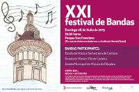 En Ribadeo celébrase o 28 de xuño o XXI Festival de Bandas de Música. Será no parque de San Francisco ás 19:30 horas.
