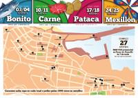 La hostelería de Burela sorteará en septiembre 5.000 euros en metálico. Salir de tapas los jueves y los viernes tiene premio.