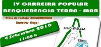 O 4 de setembro celebrarase a IV Carreira Popular Benquerencia Terra-Mar. A inscrición remata o día 1.