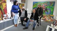 """Terra Branca presenta su """"Bijoux Space"""", un lugar más íntimo para probar o elegir las piezas de artesanía, diseñadas en exclusiva por Marga Robledo y Pilar Elvira para la galería ribadense."""