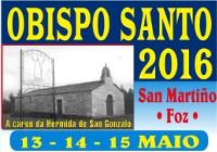 Do 13 ao 15 de maio celébrase en San Martiño, en Foz, a romaría do Obispo Santo. O Concello sensibiliza nas redes sociais sobre a necesidade de deixar limpos os lugares de acampada.
