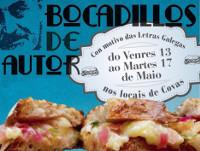 """Covas honrará ás Letras Galegas con """"bocadillos de autor"""". Trátase de creacións especiais que se poderán degustar en 14 locais do 13 ao 17 de maio."""