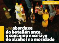 """O 21 de decembro terá lugar unha táboa redonda sobre """"Abordaxe do botellón ante o consumo excesivo de alcohol na mocidade"""". Será en Ribadeo na Casa do Mar."""