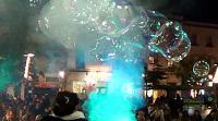 """O 22 de decembro chega á Casa da Cultura, en Burela, o espectáculo familiar """"Pomperia. El maravilloso reino de las burbujas"""". As entradas xa están á venta."""