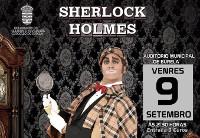 """Cayetano Lledó actuará o 9 de setembro en Burela. """"Sherlock Holmes"""" é un espectáculo para todos os públicos que mistura maxia e humor."""