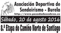 Pasada das Cabras, de Burela, realizará o 20 de agosto a 8ª etapa do Camino Norte de Santiago, comprendida entre Miraz e Roxica.