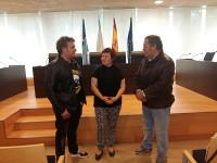 A Escola de Música de Burela conta para este novo curso 2016/17 con clases de canto, que imparte unha cantante lírica de orixe ruso.