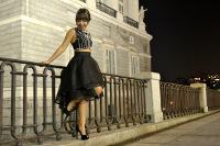 """La ribadense Carla Méndez García participa en el concurso de diseño de moda """"Fashion Academy El Corte Inglés 2015"""". Hasta el 15 de noviembre se puede votar por ella."""