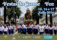 Foz celebra as festas do Carme do 14 ao 17 de xullo con diferentes actuacións musicais e as tradicionais alfombras florais.