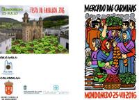 """En Mondoñedo celébrase o 25 de xullo o """"Mercado das Carmiñas"""", que organiza a Aciam e que conta coa colaboración do Concello e da Deputación de Lugo."""