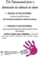 Barreiros súmase aos actos de conmemoración do Día Internacional para a eliminación da Violencia de Xénero coa lectura dun manifesto e a estrea da obra de teatro Eterea.