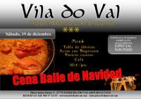 El hotel Vila do Val, de Ferreira do Valadouro, organiza una Cena Baile de Navidad el próximo 19 de diciembre. Las personas interesadas pueden hacer sus reservas ya.