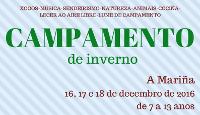 Do 16 ao 18 de decembro terá lugar o campamento de inverno que organiza Chao de Castro Altair, de Burela. A inscrición está aberta ata o día 14.