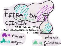 Do 6 ao 8 de abril celébrase a XXII Feira da Ciencia de Ribadeo, que organiza o IES Dionisio Gamallo Fierros.