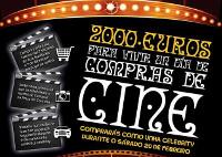 """Nova campaña de Acia Burela. """"Compras de cine"""" sortea 2.000 euros. O gañador ou gañadora converterase nunha auténtica celebrity o 20 de febreiro."""