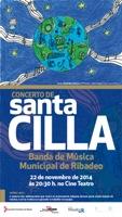 Cinco novos músicos debutarán coa Banda Municipal de Ribadeo no concerto de Santa Cilla, que se celebrará este sábado no Cine teatro.