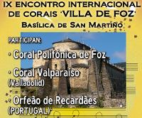 """A basílica de San Martiño, en Foz, acollerá este sábado, día 20, o IX Encontro Internacional de Corais """"Villa de Foz""""."""