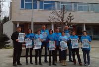"""Burela acollerá o 5 de maio a 16ª edición do Correlingua da Mariña. Mil seiscentos escolares correrán polo galego, baixo o lema """"O galego está en nós""""."""