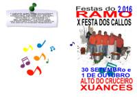 O 1 de outubro celébrase a Festa do Ramo no alto do Cruceiro, en Xuances (Xove) e o día antes, o 30 de setembro, a Festa dos Callos.