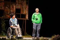 """Talía Teatro porá es escena este sábado, 11 de abril, en Viveiro a obra """"Demolición"""". Será no Pastor Díaz ás 20:30 horas."""