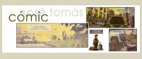 A Biblioteca Municipal de Foz conmemora o día do libro cun obradoiro de banda deseñada a cargo do ilustrador Xosé Tomás.