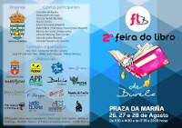 A II Feira do Libro, que se celebra en Burela do 26 ao 28 de agosto, acollerá diversas actividades como presentacións de libros, actuacións musicais ou debates con escritores.