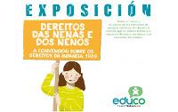 Burela acolle unha exposición sobre os dereitos dos nen@s por iniciativa da Concellería de Inmigración e Cooperación. Pódese ver ata o 30 de outubro.