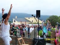 Eido Dourado, en Barreiros, abriu as súas portas o 1 de xullo, na sétima tempada deste espazo dedicado ao arte.