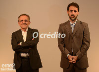 "Nova noite de teatro no Pastor Díaz de Viveiro este sábado, 28 de febreiro. Antonio Durán ""Morris"" e Pedro Alonso son os protagonistas de ""O crédito""."