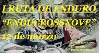 """O 12 de marzo celébrase a I Ruta de Enduro """"EnducrossXove"""". As prazas son limitadas."""