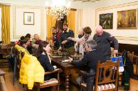 A comisión organizadora do Entroido 2015 en Ribadeo anima á hostalería a participar activamente nesta cita o 16 de febreiro servindo cocido nos seus locais