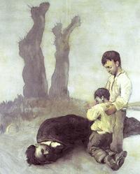 """""""Mortos por amor á terra"""" é o título do libro de Xosé Ramón Ermida Meilán, que se presentará o 19 de agosto na Feira do Libro en Foz."""