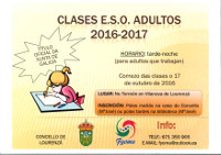 O Torreón de Vilanova acollerá, entre outras actividades, clases de ESO para adultos, que darán comezo o 17 de outubro.