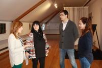 En agosto terá lugar o IV Estudio Aberto, que foi presentado hoxe. O Museo do Mar de San Cibrao será visitado por algúns dos artistas.