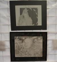 Librería Bahía, de Foz, acolle ata o 30 de maio unha exposición da ilustradora Minia Regos.