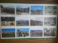 Exposición de fotos de Os Sendeiros de Foz no Cenima. Estará aberta ata o 31 de agosto.