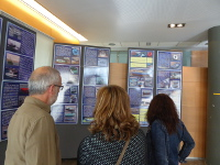A exposición sobre embarcacións tradicionais seguirá aberta en Viveiro ata o 30 de maio. Está organizada por Pensamento e Sementeira.